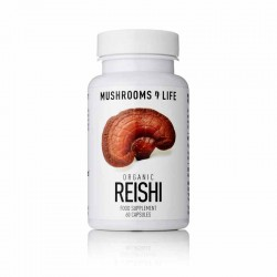 REISHI MUSHROOM SUPPLEMENT CAPSULES 60 Capsules