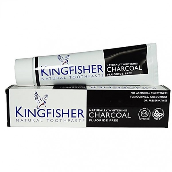 Kingfisher Aloe Charcoal Toothpaste
